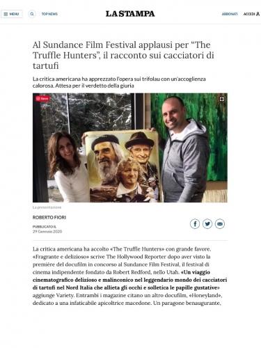 """Al Sundance Film Festival applausi per """"The Truffle Hunters"""", il racconto sui cacciatori di tartufi"""