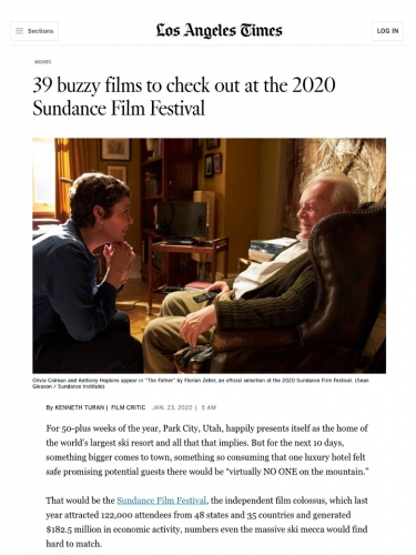 39 buzzy films to check out at the 2020 Sundance Film Festival