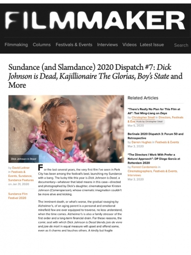 Sundance (and Slamdance) 2020 Dispatch #7