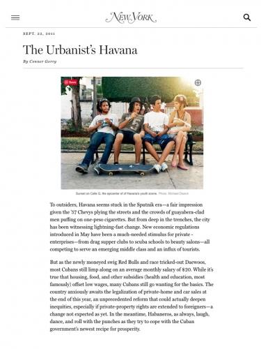 The Urbanist's Havana