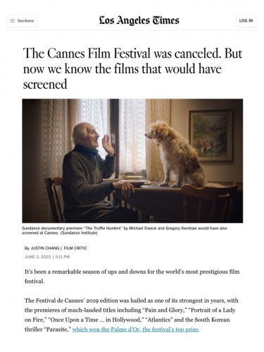 The Cannes Film Festival was canceled. But now we know the films that would have screened