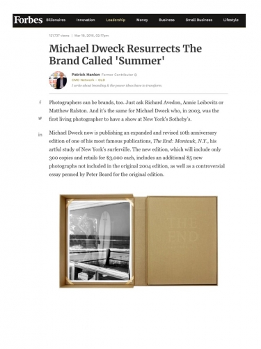 Michael Dweck Resurrects The Brand Called 'Summer'