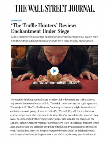 'The Truffle Hunters' Review: Enchantment Under Siege