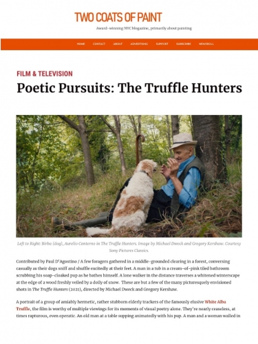 Poetic Pursuits: The Truffle Hunters