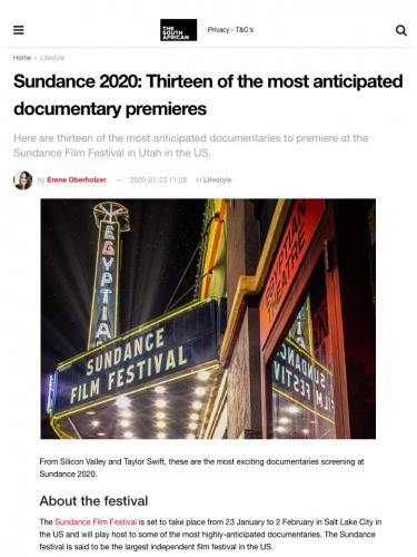 Sundance 2020: Thirteen of the most anticipated documentary premieres