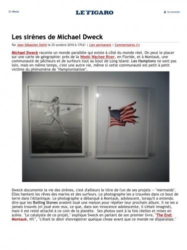 Les sirènes de Michael Dweck