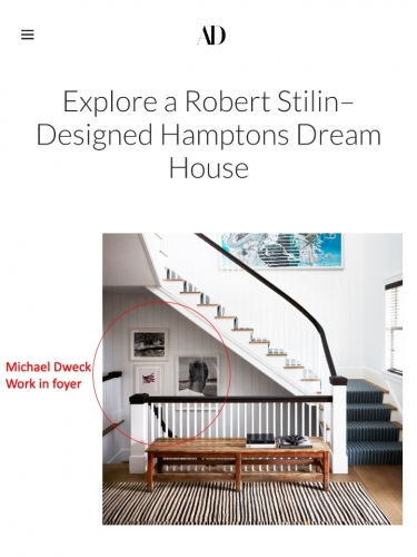 Michael Dweck work in Robert Stilin–Designed Hamptons Dream House