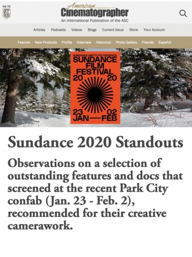 Sundance 2020 Standouts