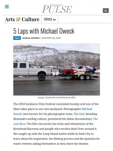 5 Laps with Michael Dweck