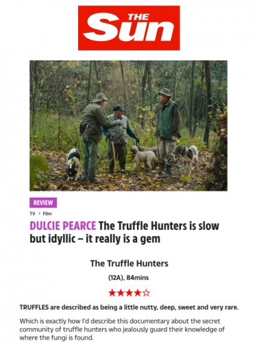 The Truffle Hunters is slow but idyllic – it really is a gem