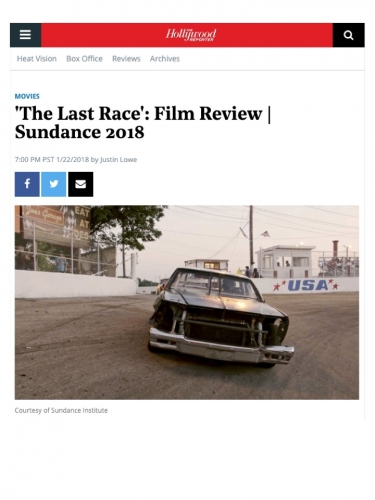 'The Last Race': Film Review | Sundance 2018