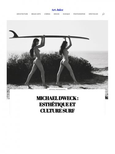MICHAEL DWECK : ESTHÉTIQUE ET CULTURE SURF