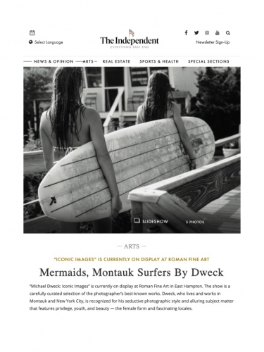 Mermaids, Montauk Surfers By Dweck