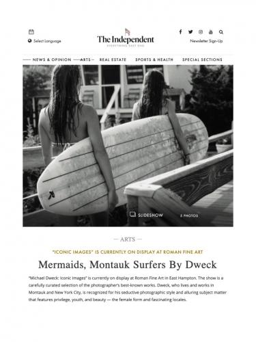 Mermaids, Montauk Surfers By Dweck