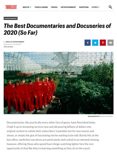 The Best Documentaries and Docuseries of 2020 (So Far)