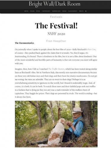 The Festival! NYFF 2020