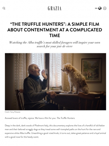 """""""The Truffle Hunters"""": A Simple Film About Contentment at a Complicated Time"""