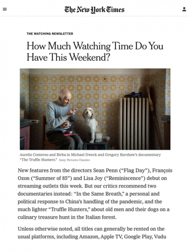 How Much Watching Time Do You Have This Weekend?