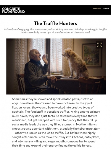 The Truffle Hunters Review