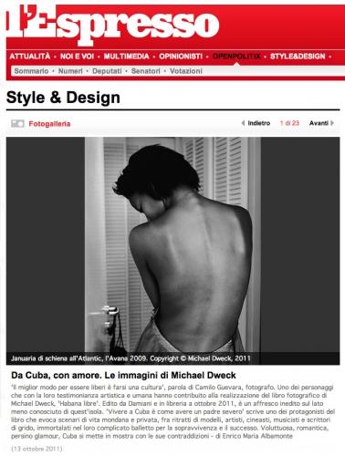 De Cuba, con amore. Le immagini di Michael Dweck