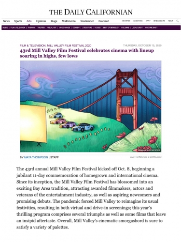 43rd Mill Valley Film Festival celebrates cinema with lineup soaring in highs, few lows