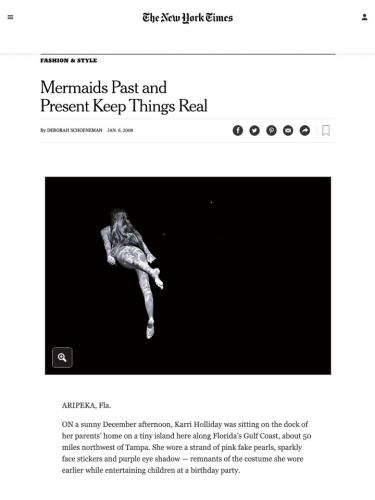 Mermaids Past and Present Keep Things Real