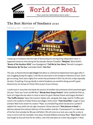 The Best Movies of Sundance 2020