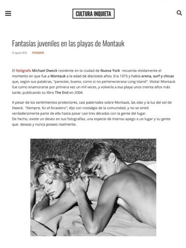 Fantasías juveniles en las playas de Montauk