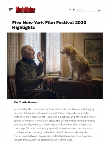 Five New York Film Festival 2020 Highlights
