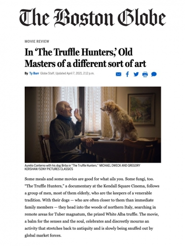 In 'The Truffle Hunters,' Old Masters of a different sort of art