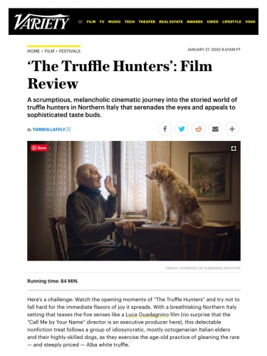 'The Truffle Hunters': Film Review