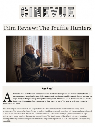 Film Review: The Truffle Hunters