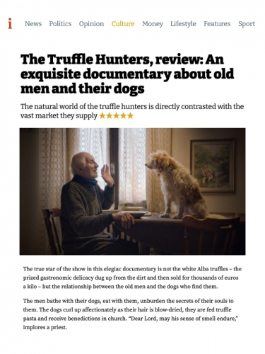 The Truffle Hunters, review: An exquisite documentary about old men and their dogs