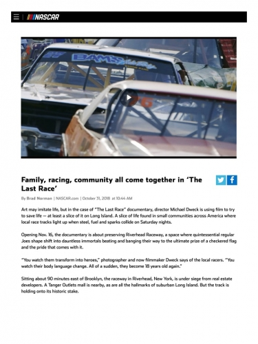 Family, racing, community all come together in 'The Last Race'