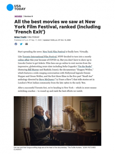 All the best movies we saw at New York Film Festival, ranked (including 'French Exit')