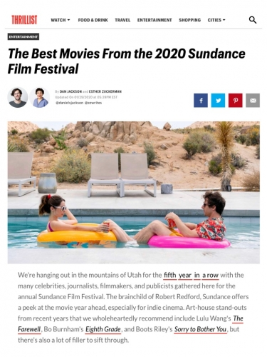 The Best Movies From the 2020 Sundance Film Festival