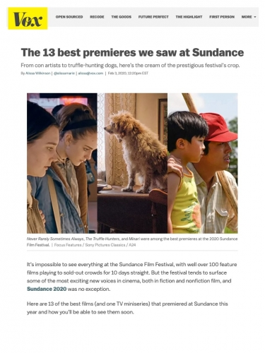 The 13 best premieres we saw at Sundance