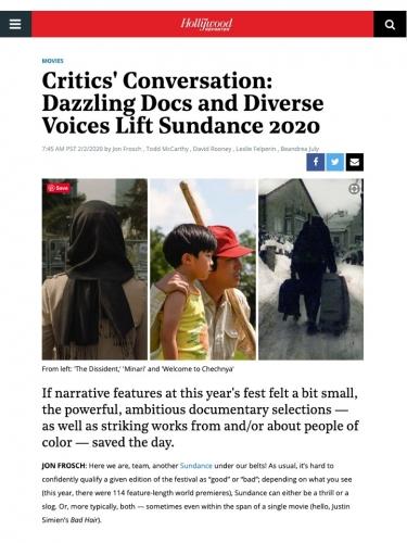 Critics' Conversation: Dazzling Docs and Diverse Voices Lift Sundance 2020