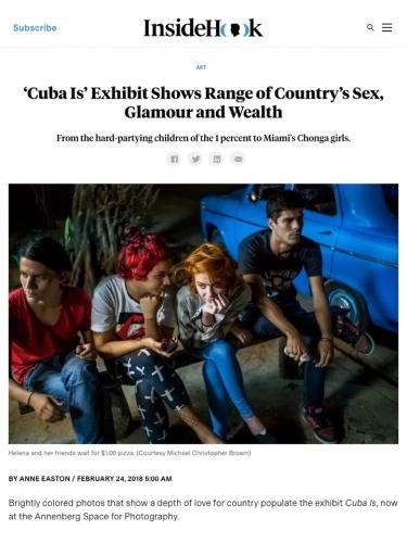 """""""Cuba Is"""" Exhibit"""