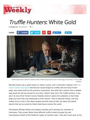 Truffle Hunters: White Gold