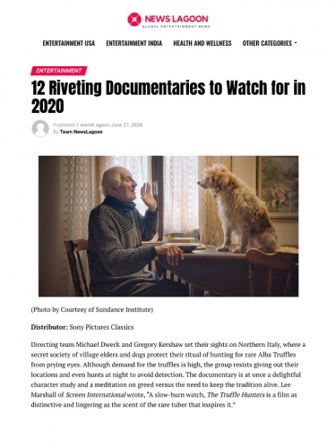 12 Riveting Documentaries to Watch for in 2020