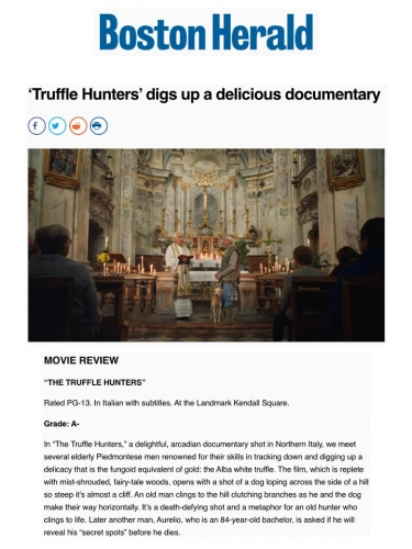 'Truffle Hunters' digs up a delicious documentary