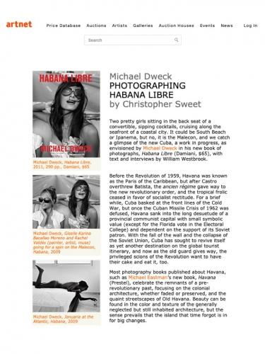Michael Dweck Photographing Habana Libre