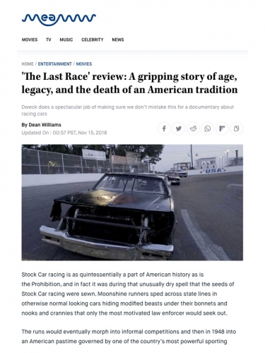 'The Last Race' review: A gripping story of age, legacy, and the death of an American tradition
