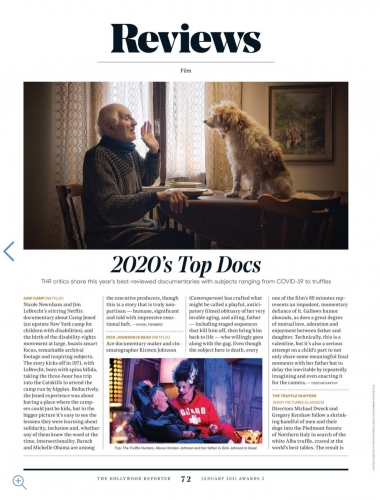 Awards Special: Documentaries and International Films - 2020's Top Docs