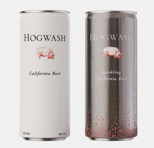 Mixed Case of Hogwash Cans