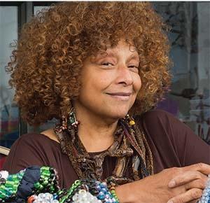 Joyce J. Scott lecture at the Lowe Art Museum in Florida