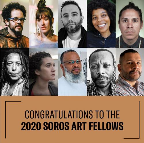 Nicholas Galanin Recipient of 2020 Soros Arts Fellowship