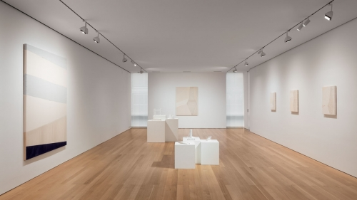 Installation view of Rebecca Ward at The FLAG Art Foundation, 2017. Photography by Steven Probert.