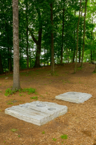 Esther Kläs at the deCordova Sculpture Park and Museum Lincoln, Massachuse